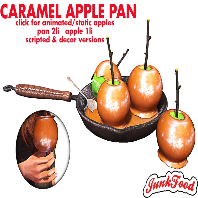 Junk Food - Caramel Apple Pan Ad